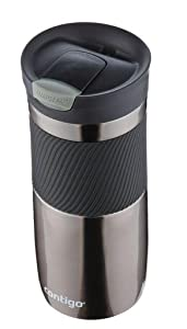 Contigo SNAPSEAL Byron Vacuum-Insulated Stainless Steel Travel Mug, 20 oz., Grayed Jade