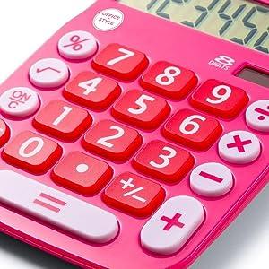 calculator, large digits, 8 digit, desktop calculator