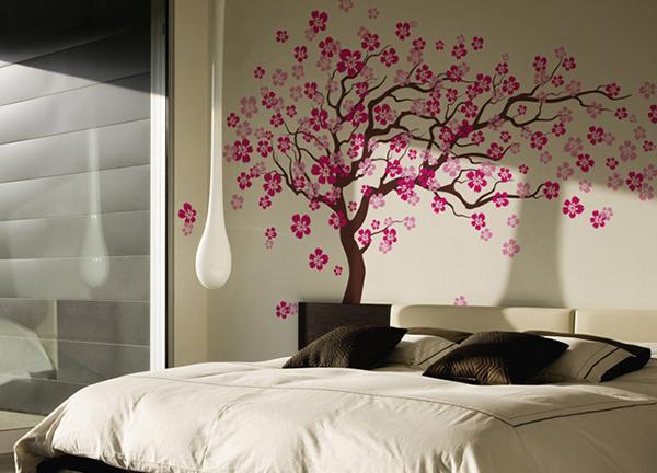 Amazoncom Pop Decors Removable Vinyl Art Wall Decals Mural Cherry