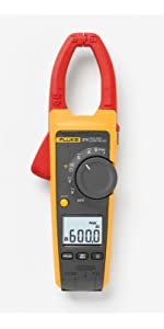 Fluke Clamp Meter with AC/DC voltage and current measurements