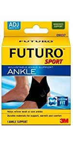 FUTURO Sport Ankle Support Adjustable joint support