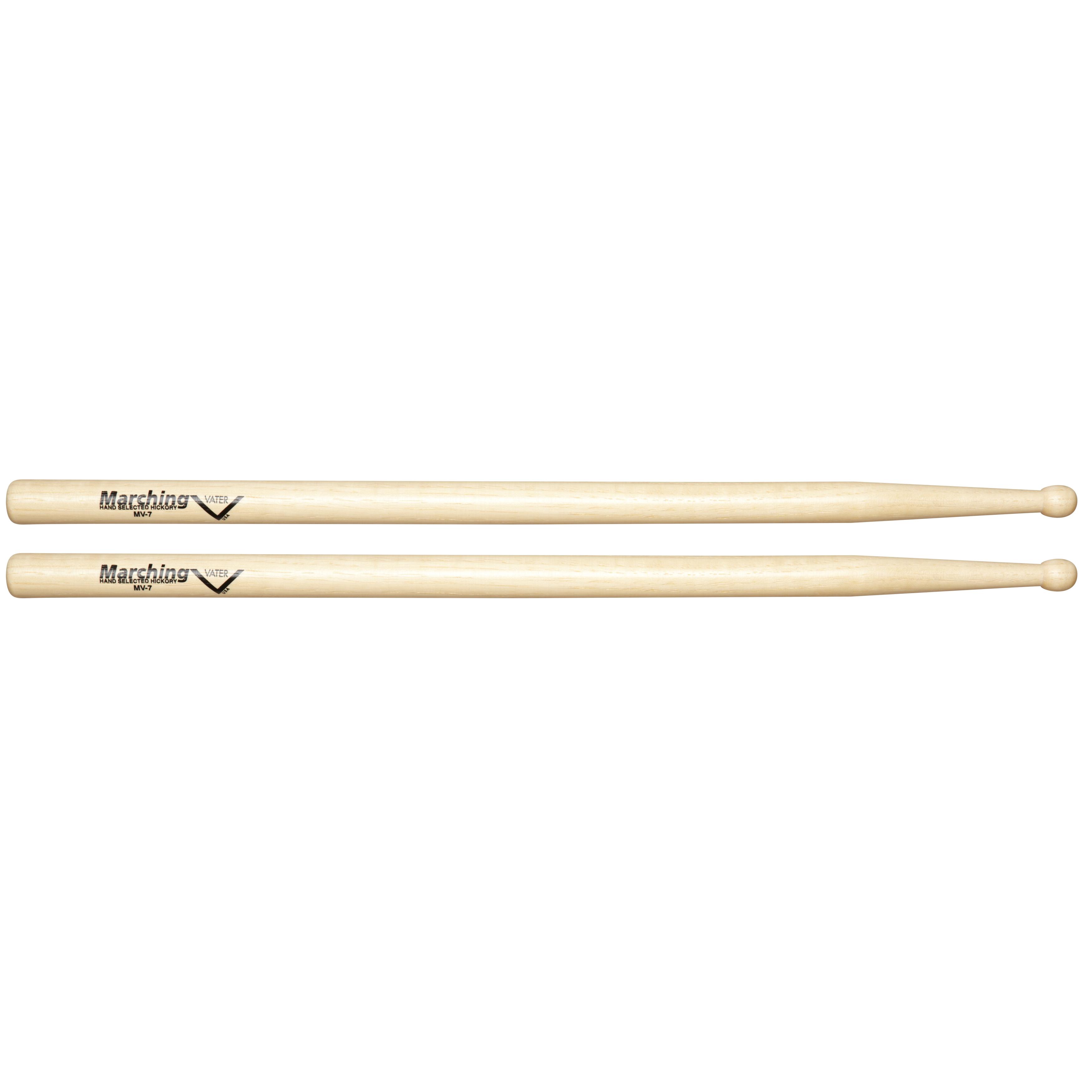 vater mv7 marching drum sticks with barrel tip pair musical instruments. Black Bedroom Furniture Sets. Home Design Ideas
