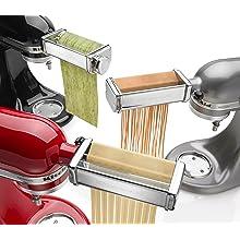 Kitchenaid Kpra Pasta Roller Amp Cutter Set Amazon Ca Home