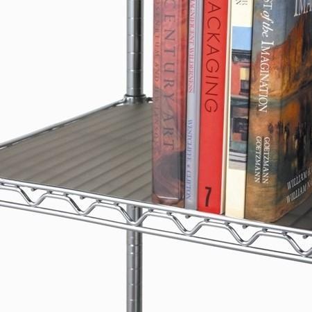 Amazon.com: Seville Classics forros para estante (2 unidades ...