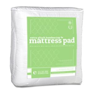 Bamboo Mattress Pad With Fitted Skirt Extra Plush