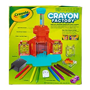 Crayola Crayon Factory - Back of Package