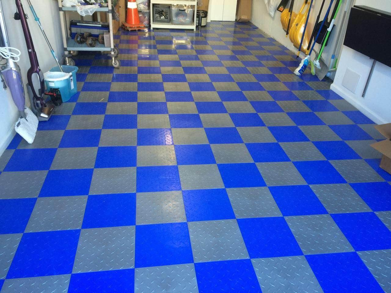 Amazon.com: Speedway Garage Tile Interlocking Garage Flooring 6 LOCK ...