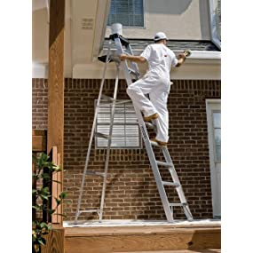 Louisville Ladder As3003 300 Pound Duty Rating Aluminum