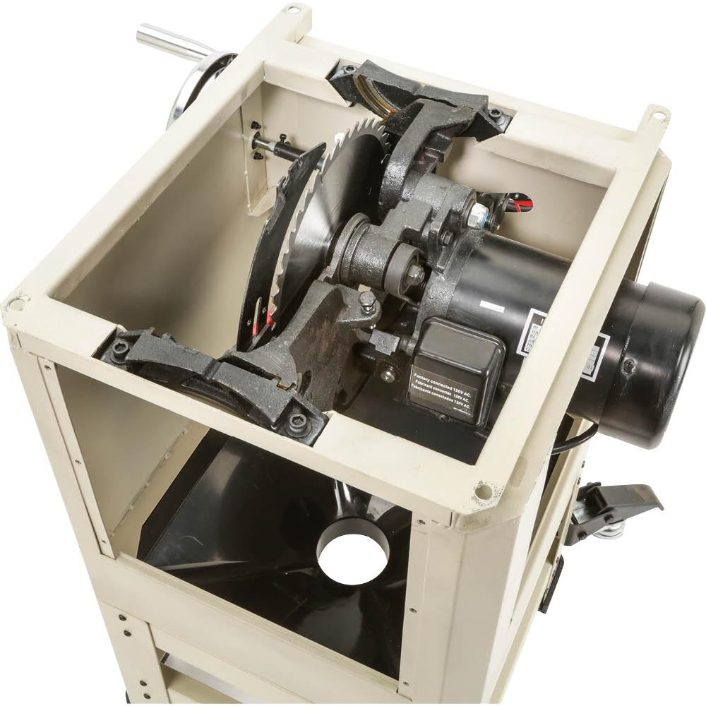 Steelex W1837 2 Horse Power Open Stand Hybrid Table Saw