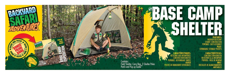 Spielzeug für draußen Backyard Safari Base Camp Shelter