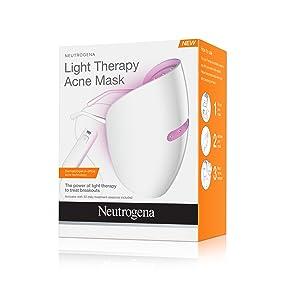 neutrogena light therapy acne treatment mask beauty. Black Bedroom Furniture Sets. Home Design Ideas