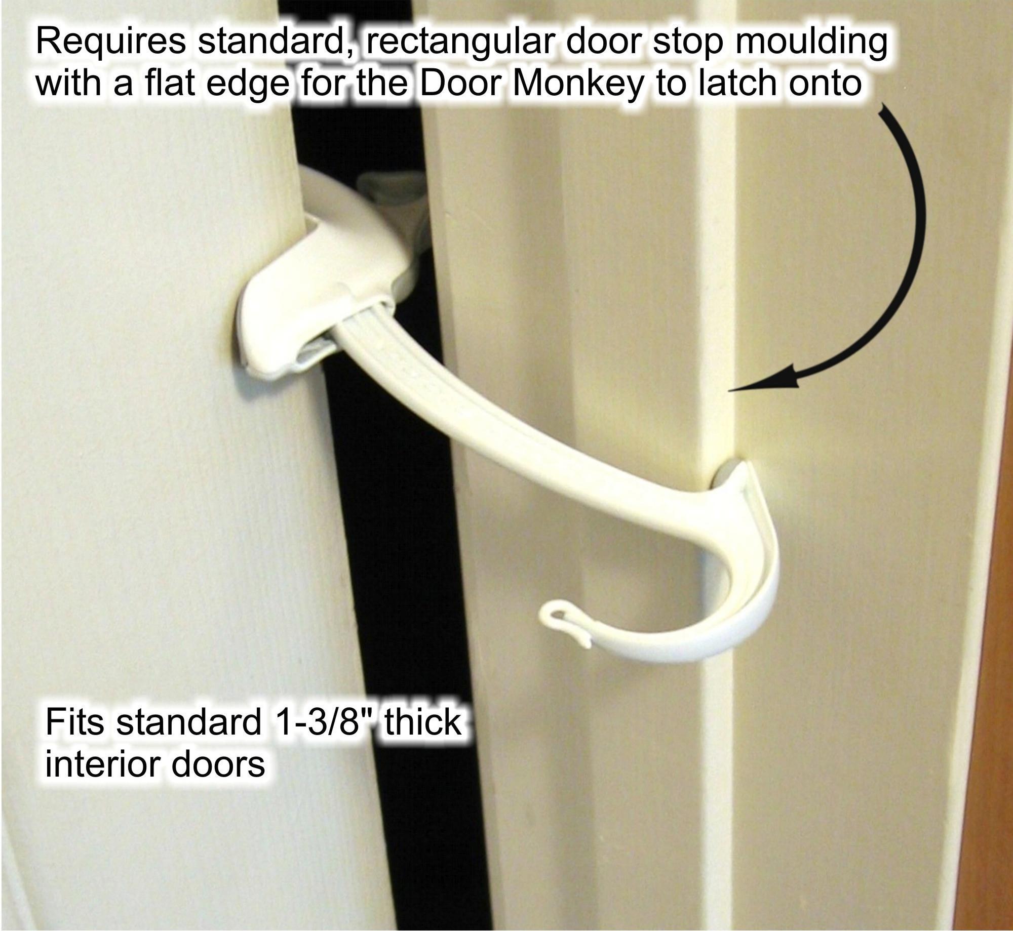 View larger  sc 1 st  Amazon.com & Amazon.com : Door Monkey Door Lock and Pinch Guard : Childrens Home ...