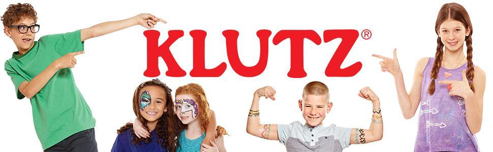 Klutz logo banner