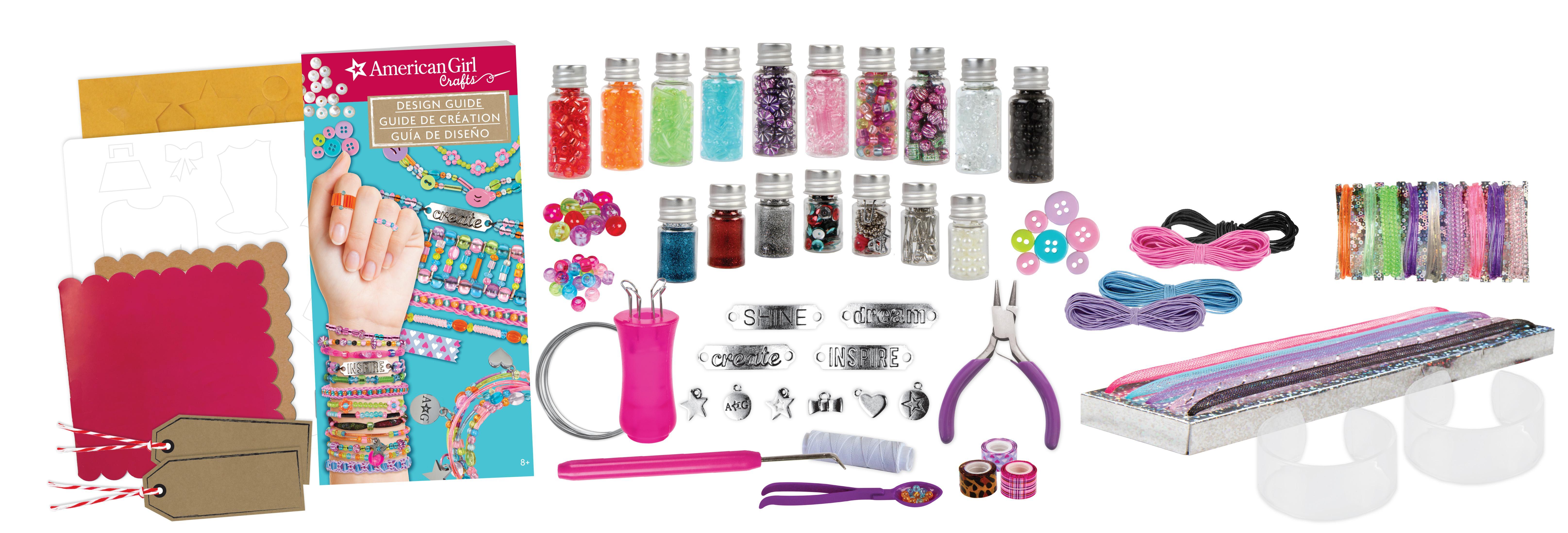 American girl 24118 ultimate crafting super set jewellery for American girl ultimate crafting super set