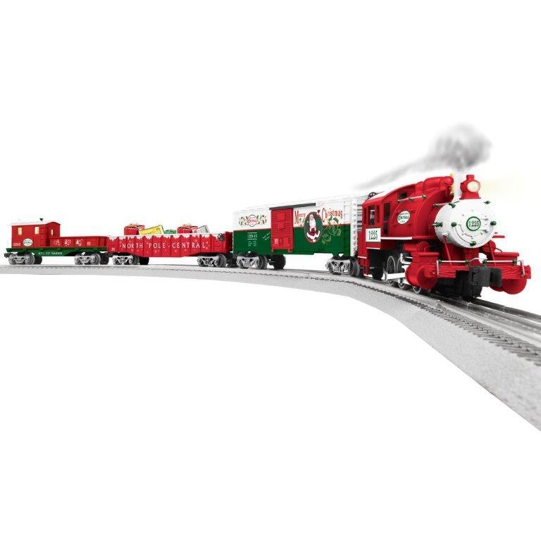 lionel santas helper christmas lionchief set