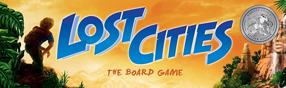 Amazon.com: Lost Cities - The Board Game: Toys & Games