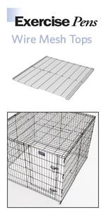 Wire Mesh Top for MidWest Exercise Pens