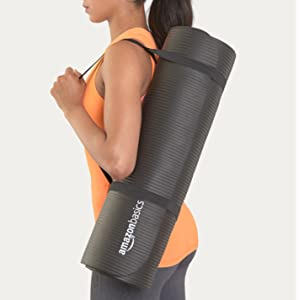 Amazon Com Amazonbasics 1 2 Inch Extra Thick Exercise