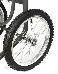 pneumatic, tires, garden, hose, cart
