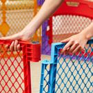 superyard colorplay ultimate play yard, north states, baby safety play yard, plastic play space