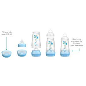 Amazon.com: Pezones para botella MAM, nivel 2, boquilla de ...