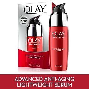 olay, regenerist, amino-peptide, firming serum, smooth wrinkles