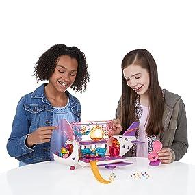 Hasbro Littlest Pet Shop B1242EU4 Spielset Pet Jet