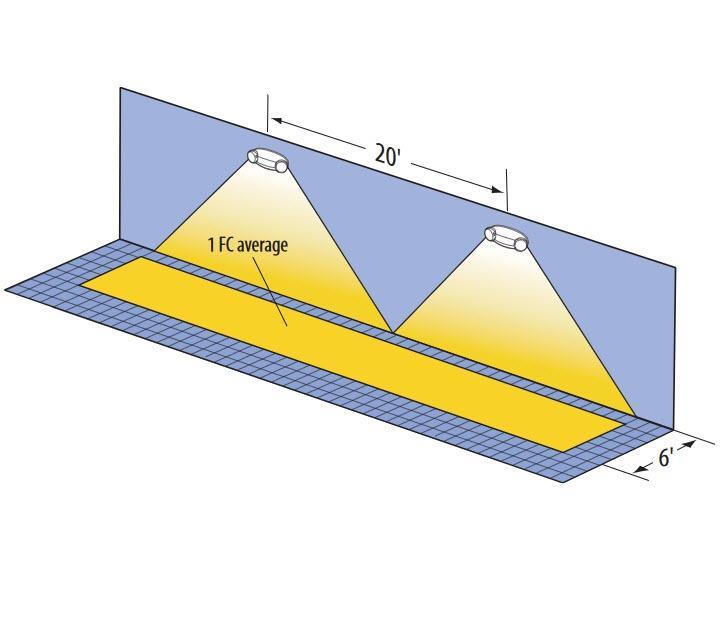 Lithonia Emergency Egress Lighting: Lithonia Lighting ELM2 LED M12 Emergency Lighting LED Lamp