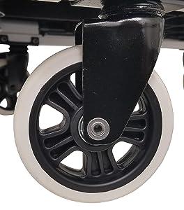 Magna Cart Ff Flatform 4 Wheeled Hand Truck Silver Tools