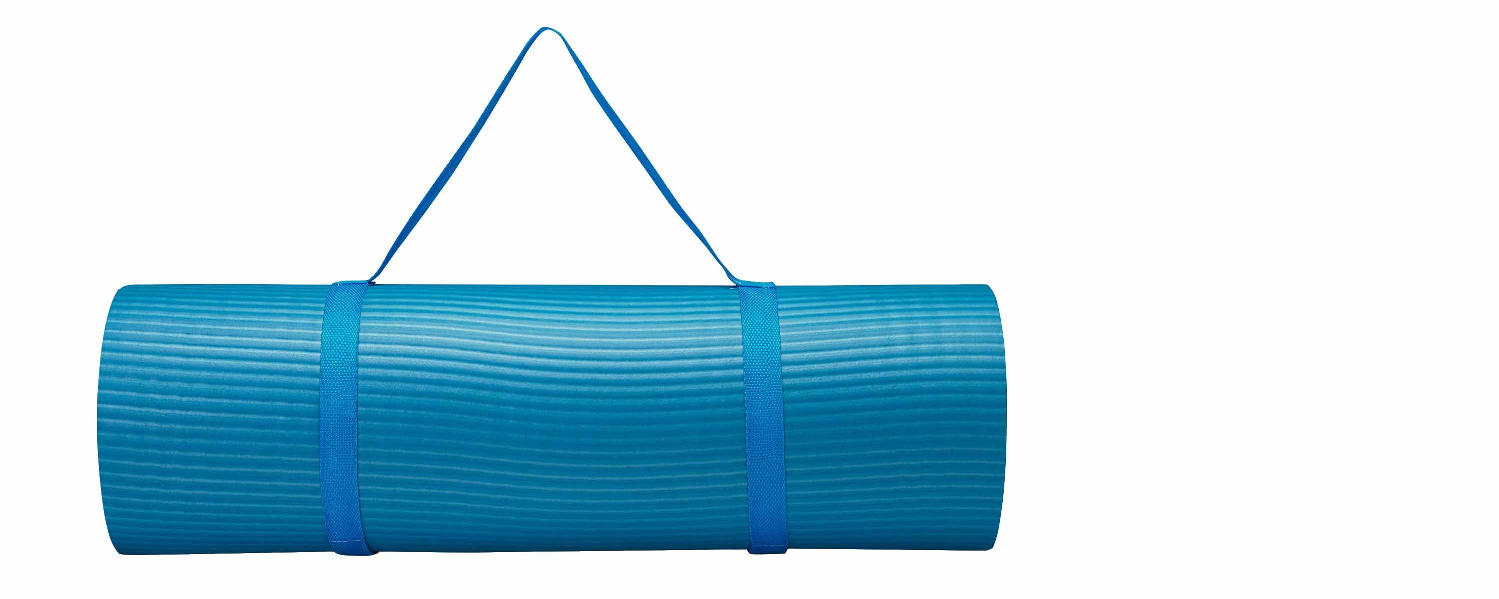 Amazon.com: Gaiam – Alfombrilla de fitness con correa de ...