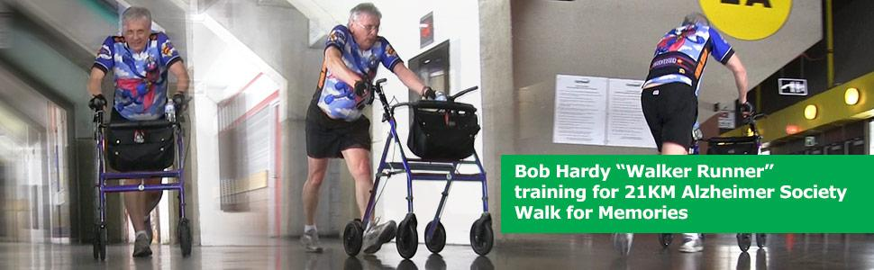 how to set up a rollator