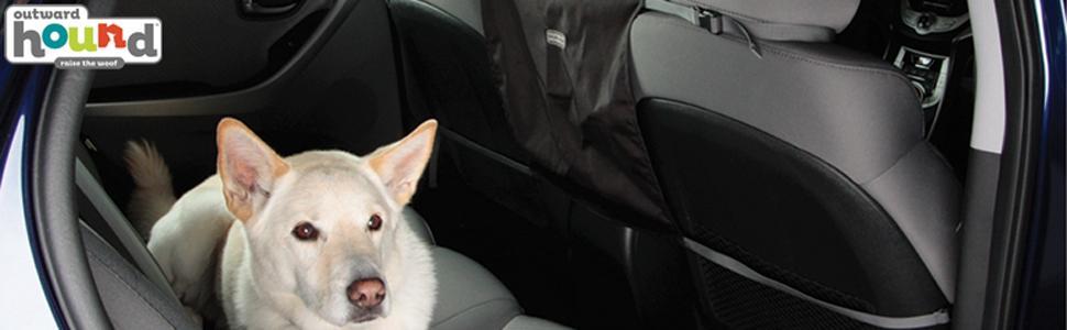 Outward Hound Kyjen 21001 PupShield Hammock Dog Auto Travel Back