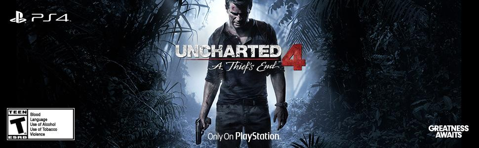 Amazon Com Uncharted 4 A Thief S End Special Edition