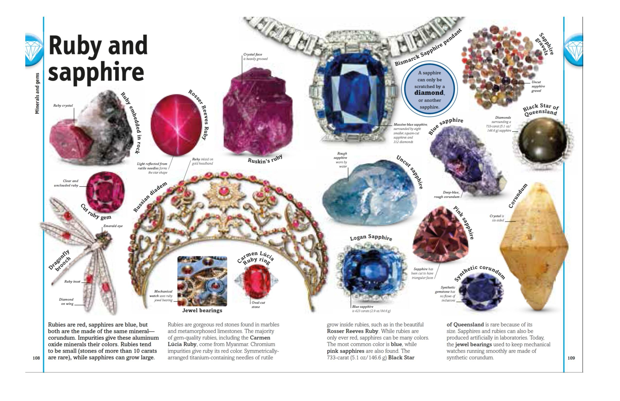 The Rock and Gem Book: And Other Treasures of the Natural World ...