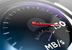 High-speed USB 3.1 performance