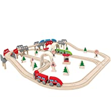Wooden Train Track Accessories My First Railway Hape E3807 Jungle Journey Railway Engine