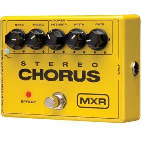 Stereo Chorus, Chorus, MXR, M134, Guitar, Effects, Pedals