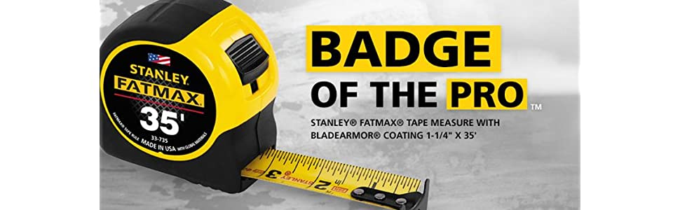 FatMax® BladeArmor® Tape Measure STANLEY 33-735 35 ft