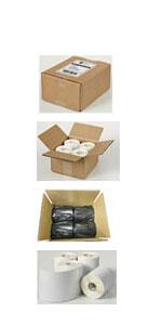 04157 Avery Thermal Shipping Labels 220 Labels per roll White 4 x6 inches 4 Rolls per Pack for a Total of 880 Labels