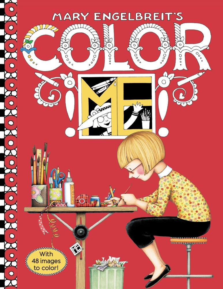 Amazon Mary Engelbreits Color ME Coloring Book 9780062445612