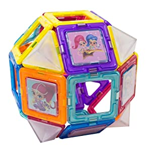 22 Pieces New MAGFORMERS Shimmer and Shine Set