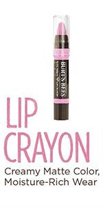 lip crayon;lip color;lip balm;organic lip balm;organic lips;natural lips