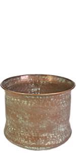 Copper Finish Cylinder Hose Holder