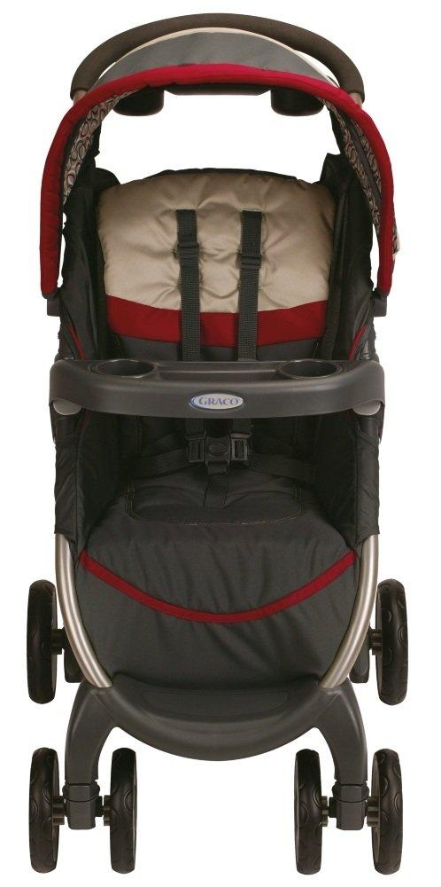 6c3143971 Amazon.com : Graco Fastaction Fold Click Connect Travel System ...