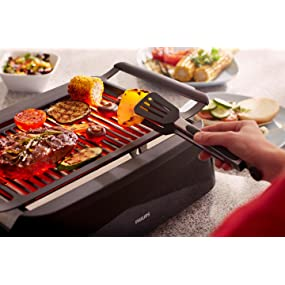 Philips Smoke-less Indoor Barbecue Grill, Avance Collection ...
