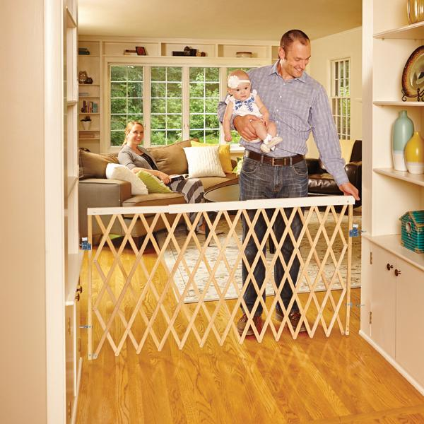 Amazon Com North States 60 Wide Expandable Swing Baby Gate