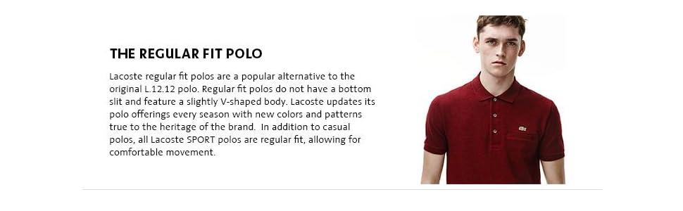 Lacoste - Polo de Manga Corta para Hombre con Bolsillo  Amazon.com ... cd95a80ac2c12