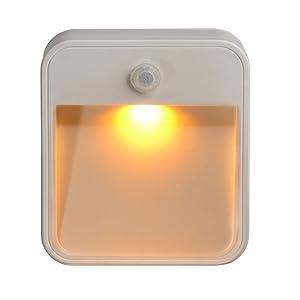 motion sensor night light, motion night light battery, wireless light, night lite, led night light