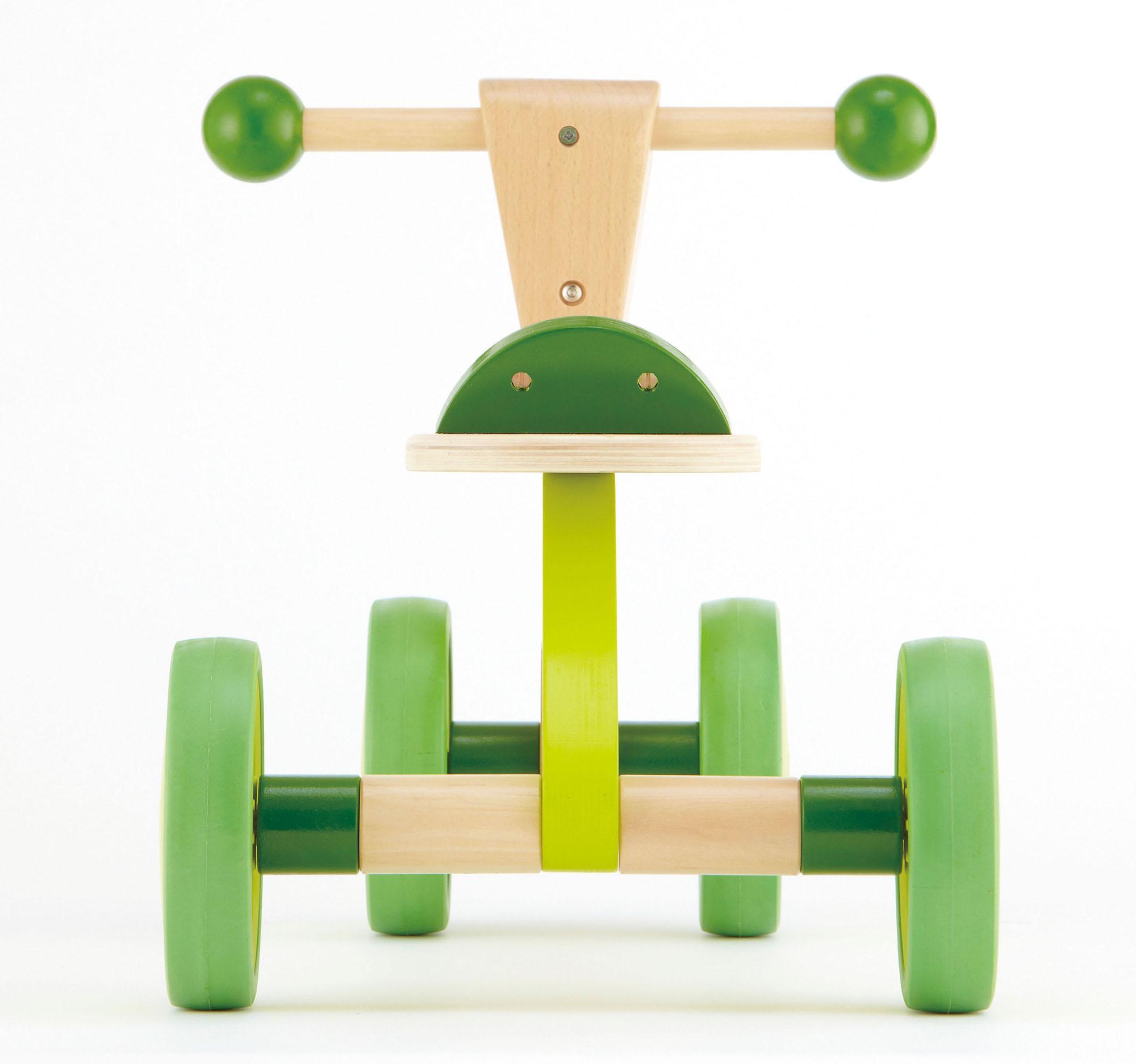 Hape Scoot Around Kid's Wooden Ride On Balance Bike ...