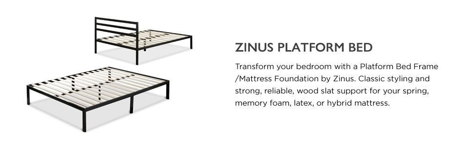 Amazon Com Zinus Mia Modern Studio 14 Inch Platform 1500